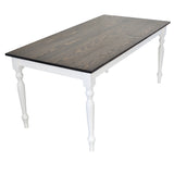 French Marsanne Country Farmhouse Table turned legs