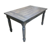 Grey English Farmhouse Harvest Table