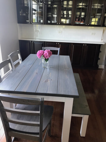 Awesome Driftwood Grey Harvest Table Alphanode Cool Chair Designs And Ideas Alphanodeonline