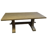 Grey Trestle Farmhouse Table