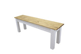 Rustic Farmhouse Harvest bench Farm bench