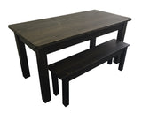 Black Tavern Farmhouse Table