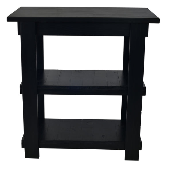 Oxford Black Kitchen Island
