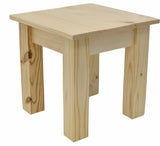 Pine Wood End Table