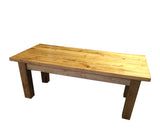Rustic Ranch Coffee Table