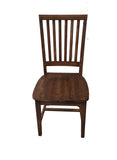 Rustic Red Mahogany Farmhouse Chair Farm Chair Seating