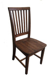 Rustic Red Mahogany Farmhouse Chair Farm Chair Seating-5