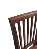 Rustic Red Mahogany Farmhouse Chair Farm Chair Seating-6