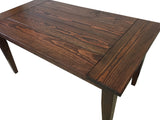 Red Mahogany Lodge Table
