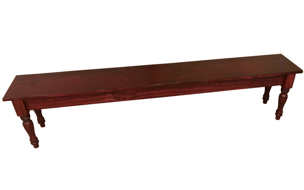 Red Mahogany English Bench