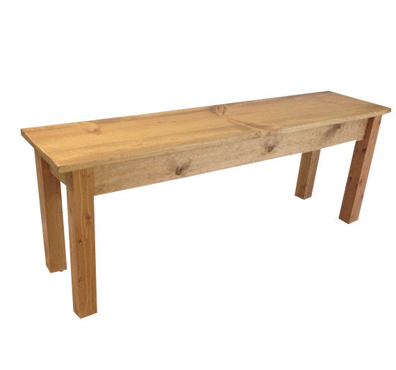 Rustic Ranch Collection Farmhouse Bench Farm Bench