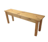 Rustic Farmhouse Bench Farm Bench mudroom bench entry bench golden oak-2