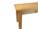 Rustic Farmhouse Bench Farm Bench mudroom bench entry bench golden oak-3