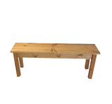 Rustic Farmhouse Bench Farm Bench mudroom bench entry bench golden oak-4