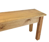 Rustic Farmhouse Bench Farm Bench mudroom bench entry bench golden oak-5