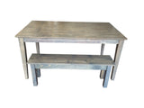 Driftwood Grey  Shaker Table