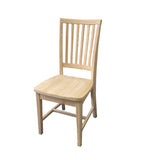 Hand Crafted Farmhouse unfinished Chair-3
