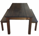 Rustic Farmhouse Table Farm Table Harvest Table hand crafted in St. Louis-2