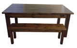 Rustic Farmhouse Table Farm Table Harvest Table hand crafted in St. Louis