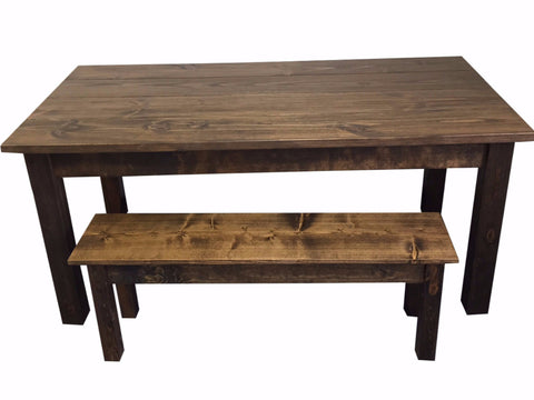 Great ... Rustic Farmhouse Table Farm Table Harvest Table Hand Crafted In St.  Louis 6 ...