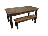 Rustic Farmhouse Table Farm Table Harvest Table hand crafted in St. Louis 9