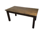 Rustic Farmhouse Table Farm Table Harvest Table hand crafted in St. Louis - 11