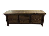 Rustic Storage Bench-2