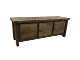 Rustic Storage Bench-4