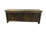 Rustic Storage Bench-5