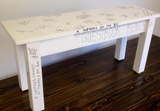 Guestbook Bench
