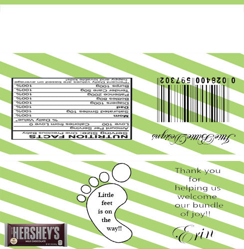 Custom Candy Labels