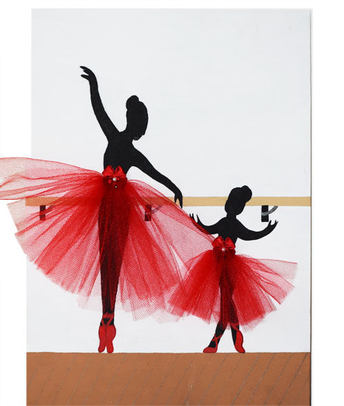 Ballet Inspired Wall Art