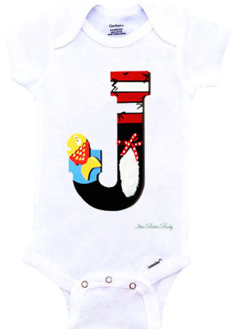 Cat in the Hat Inspired Onesie