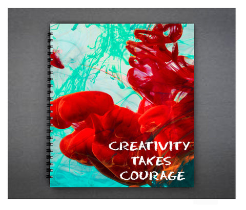 Creativity Takes Courage Planner