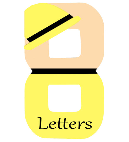 8 Themed Letters