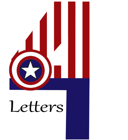 4 Themed Letters
