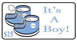 It's A Boy! Gift Certificate