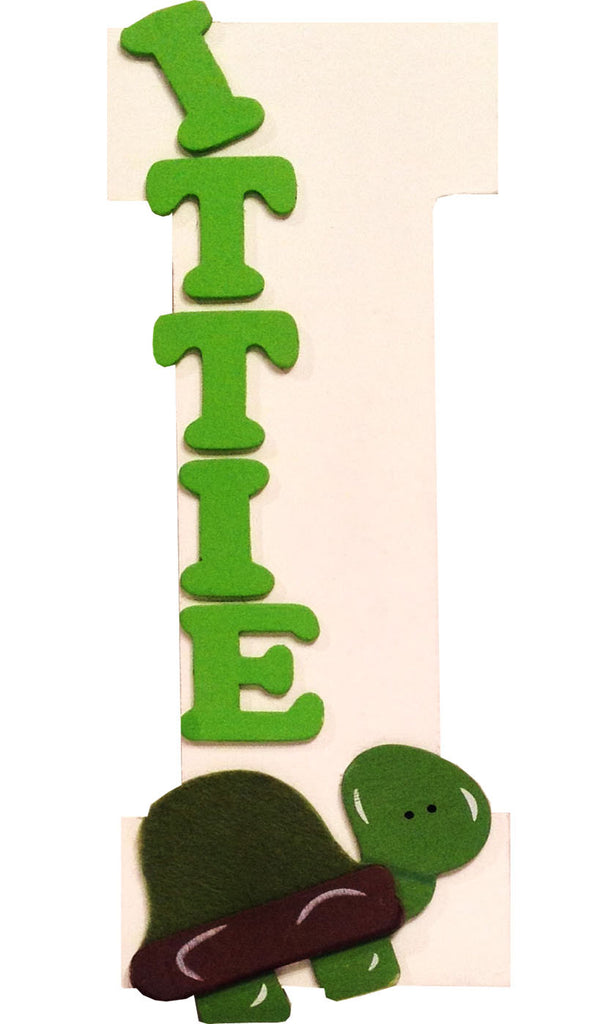 Name Plate Wooden Letter