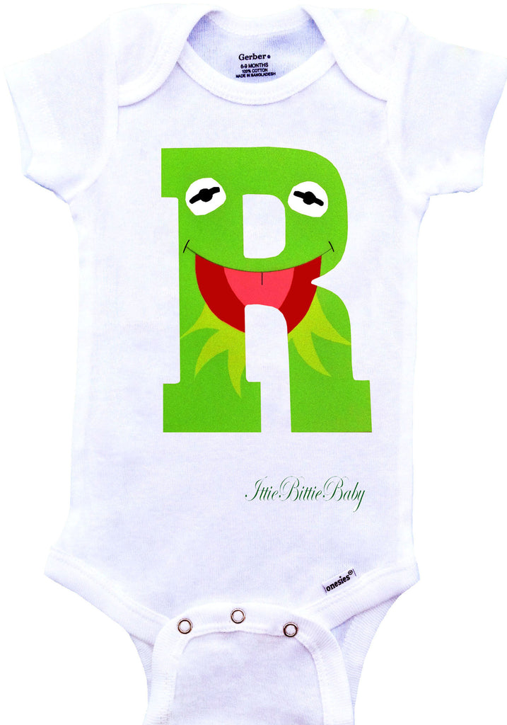 Kermit the Frog Inspired Onesie