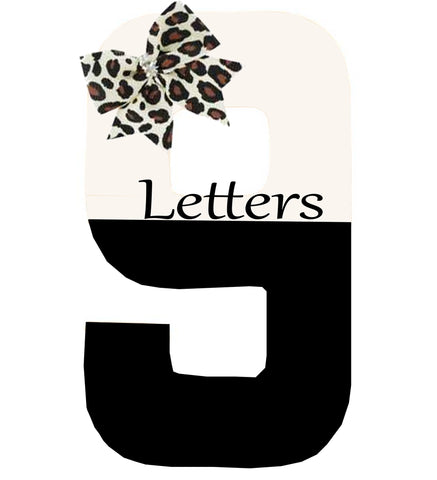9 Themed Letters