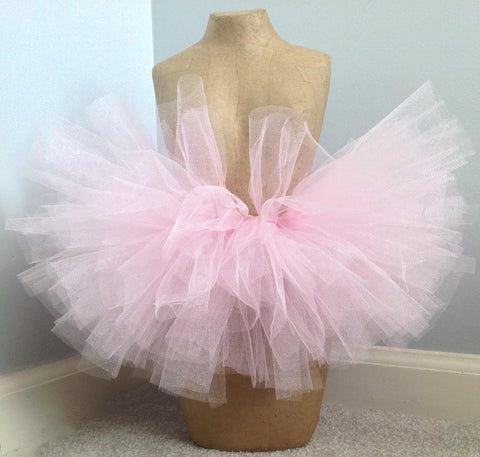 Pale Pink Sparkle Tutu Skirt