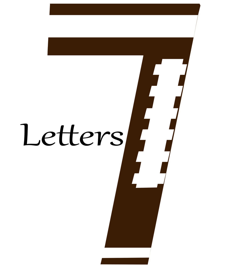 7 Themed Letters