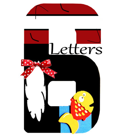 6 Themed Letters