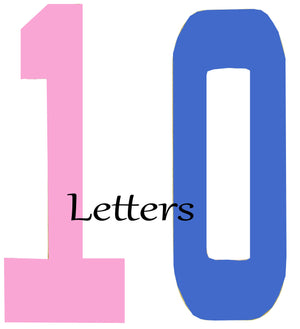 10 Themed Letters