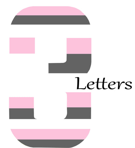 3 Themed letters
