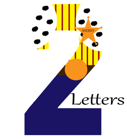 2 Themed Letters