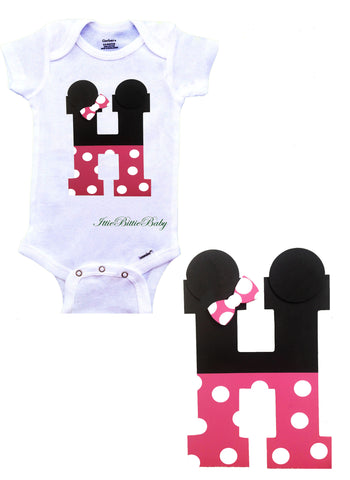 Minnie  Inspired Gift Set