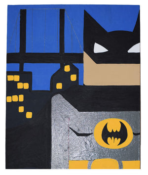 Batman Inspired Wall Art