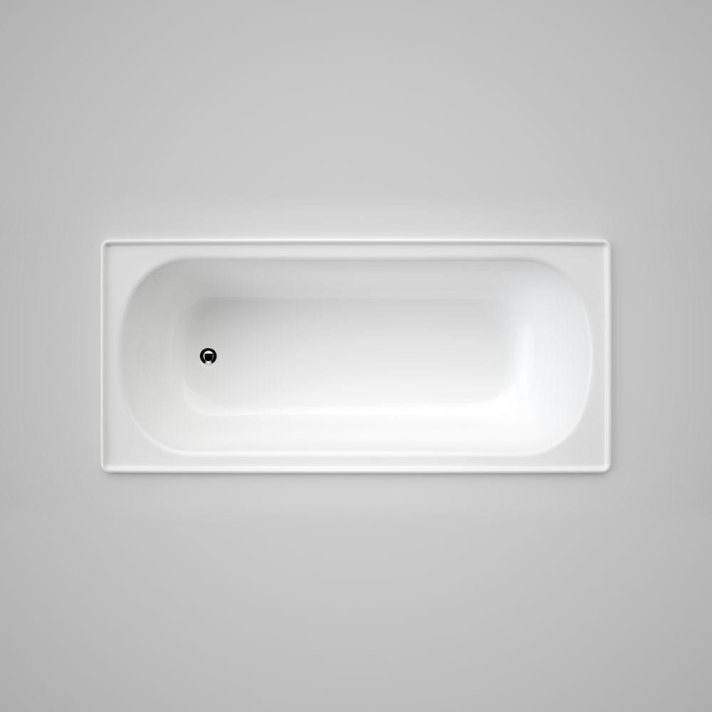 Caroma Stirling 1675 Inset Bath with Tile Flange