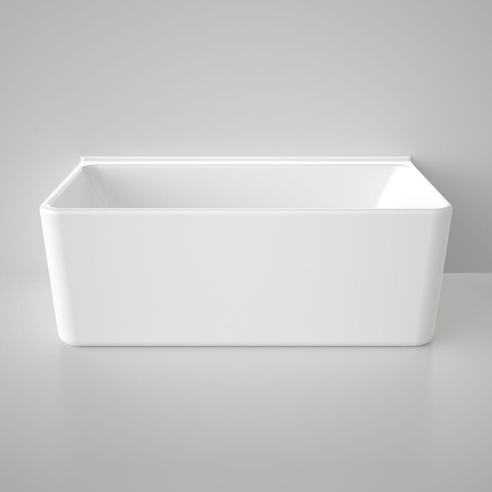 Caroma Cube 1600 Back To Wall Freestanding Bath